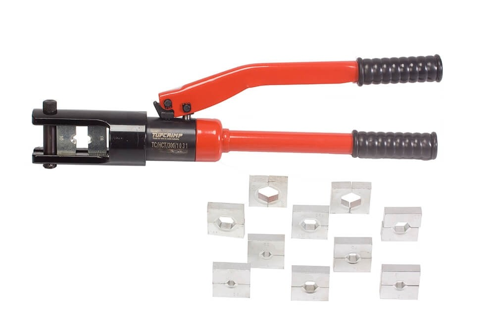 TUFCRIMP Hydraulic Crimping Tool (10sq mm-120 sq mm)