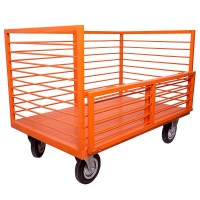StackEasy Platform Trollies with side mesh 500Kg