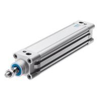 FESTO Standard Cylinder DNC-40-265-PPV-A 163336