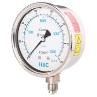 FLUC Pressure Gauge F100-GFS-S-L-14-L  (0 to 20000 PSI )