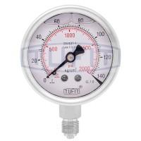 Tufit Pressure Gauge 100-C-U-BBB-DB-140 KG