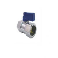 SKS 511 FORGED BRASS MINI BALL VALVE, Size 1/4 Inch 6mm